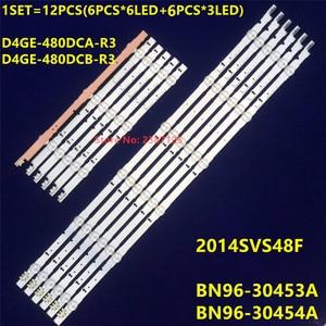 Image 2 - Ledストリップ 9 ランプサムスン 2014SVS48F UA48J5088AC UE48H6400 UE48H6200AK BN96 30453A D4GE 480DCA R3 D4GE 480DCB R3 ue48h6500