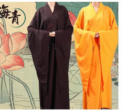 Buddhist Monk Robes Buddhist Monk Clothing Costume Shaolin Monk Clothing Meditation Clothing
