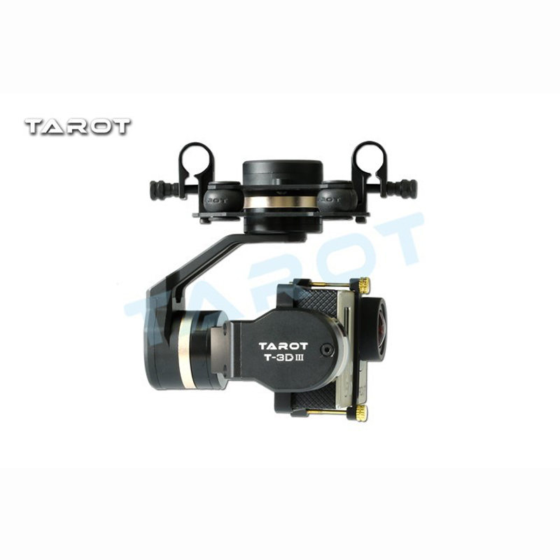 Tarot TL3T01 Update from T4 3D 3D Metal 3 axis Brushless Gimbal for FPV RC Drone Photography for GOPRO4 for Gopro3 for Gopro3+ - 4