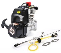 Rofun высокомощный 71cc двигатель с ЧПУ чехол выхлопная труба для 1/5 весы автомобиля Baja HPI BAJA 5B 5T 5SC LOSI 5IVE-T MCD