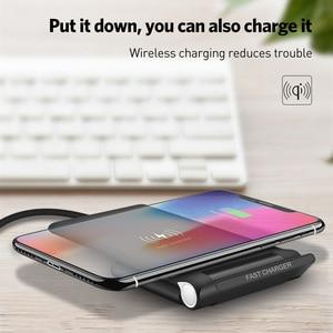Image 4 - 15W מהיר אלחוטי מטען Pad מתקפל 10W Qi טעינת Stand עבור iPhone 11 פרו מקס XS XR X 8 סמסונג S10 S9 S8 בתוספת הערה 10 9