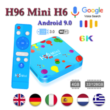 Box android H96 mini H6 tv set top box H.265 Wifi HD tv box 6k media Player smart tv box Android support iptv netflix Youtube 5pcs original ipremium tvonline android tv box smart iptv set top box receptor decoder tv receiver