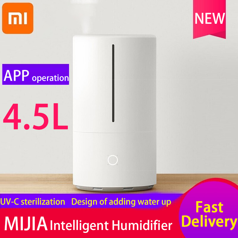 Xiaomi Mijia UV-C Sterilization Humidifier Home Bedroom Office Intelligent Heavy Stream Pregnant Women Infant  Humidifier