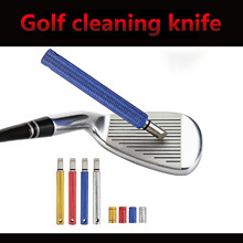 Golf Club Groove Sharpener Cleaner Re-grooving Tool And Cleaner For Wedges&irons Golf Groove Tool Cleaning Accesories#40