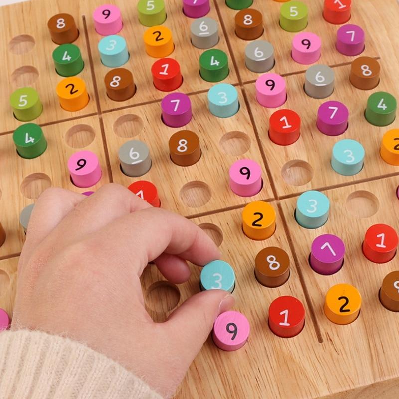 Madeira sudoku jogo de xadrez qualidade quebra-cabeça