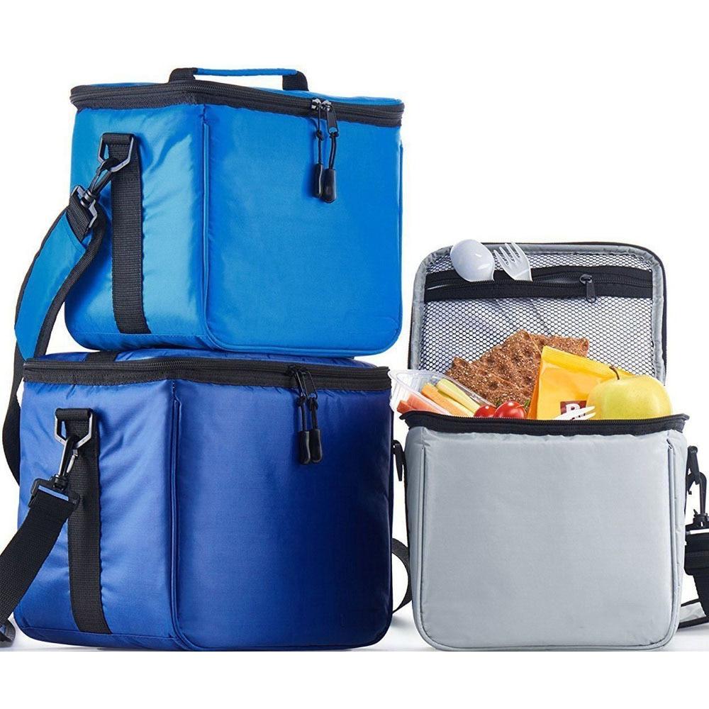 Adulto lancheira isolado saco de almoço grande