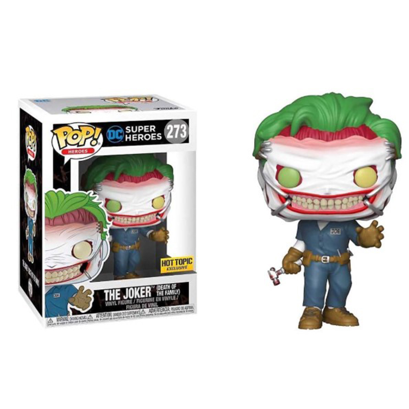 Funko POP DC Super Heroes Justice League THE JOKER HARLEY QUINN Limited Action Figures Brinquedos Collection Model Vinyl Dolls