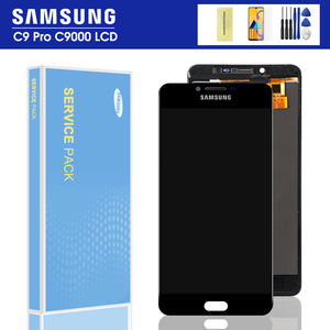 "6.0"" LCD Display For SAMSUNG Galaxy C9 Pro LCD C9000 C9 LCD Touch Screen Digitizer Replacement For SAMSUNG C9 Pro LCD(China)"