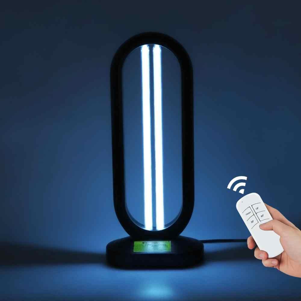 220 В УФ-лампа стерилизатор озона палочка ЕС штепсельная вилка дистанционного таймера Светодиодная лампа дезинфицирующее средство WC домашний усовершенствование ультрафиолетовый кварцевый светильник