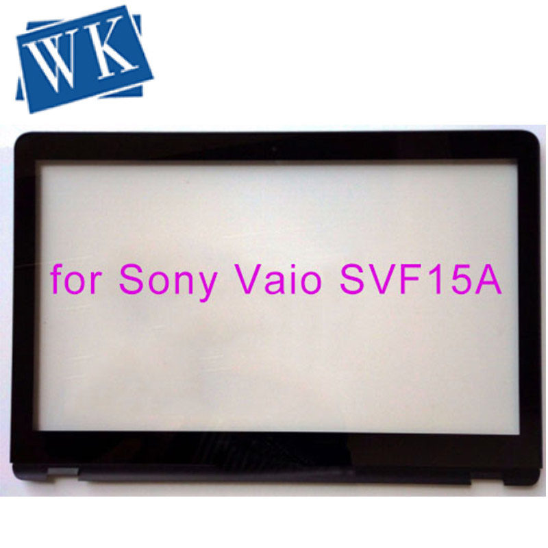 """15.6"""" For Sony Vaio SVF15A Series Laptop Touch Screen Glass Lens Panel With Digitizer Replacement Parts 69.15I03.T02 L156fg"""