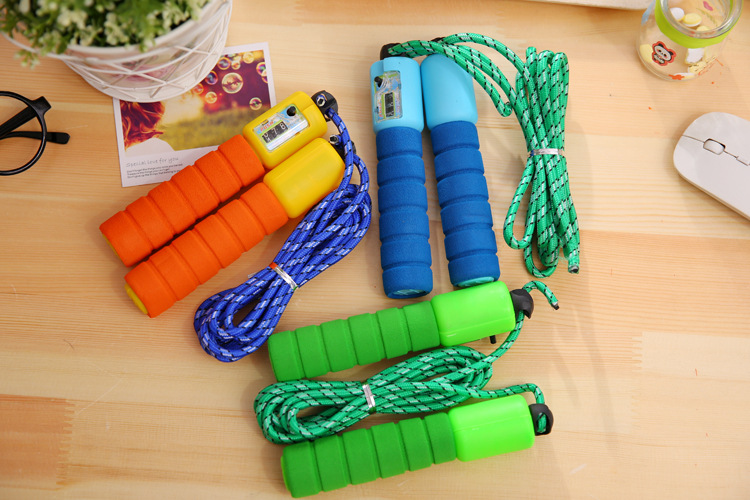 Electronic Counting Jump Rope Children Pattern Tiaoshen Rope Young STUDENT'S The Academic Test For The Junior High School Studen