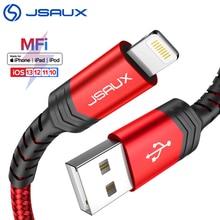 Jsaux Iphone Charger Usb Mfi Lightning Kabel Voor Iphone 8/11X/Xs Max/Xr/7 Plus accessoires Voor Mobiele Telefoons Usb Data Kabel
