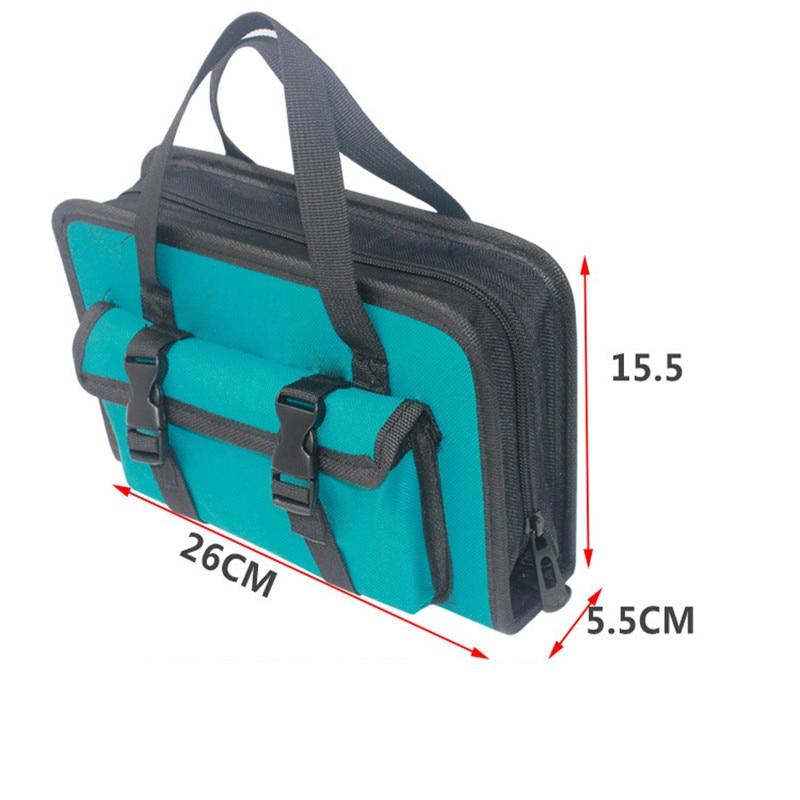 Tool Bag 260*155*55mm Waterproof Electrician Tool Bag Oxford Canvas Handbag Organizer Tools Durable