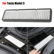 цена на NEW Air Conditioning Air Inlet Protection Cover Dustproof Anti-dirty Purification Air Filter For Tesla Model