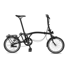 Folding Bike Bicycle-Made 3-Speed 16-Inch of Steel Chromium Molybdenum-Steel S-Handle
