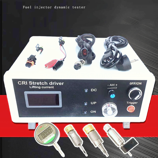 Para BOSCH 110 120 CUMMIINS diésel common rail inyector válvula electromagnética herramienta de probador del conductor de corriente de elevación dinámica