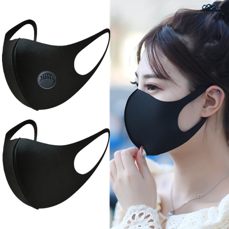 Respiratory Dust Mouth Anti Mask Anti Thicken Masks  PM2.5 3D Cropped Breathable Valve Men Women Activated Carbon Anti-fog Mask