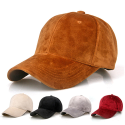 Fashion Brand snapback Baseball Cap Women Gorra cap Street Hip Hop Caps Suede pleuche winter Hats for Ladies Solid color