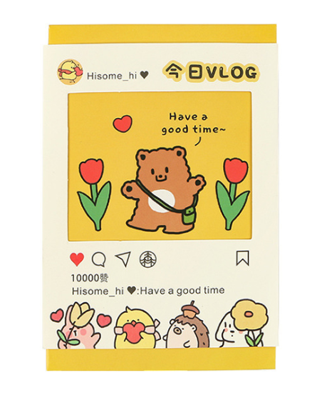 Today Animal Paper Postcard(1pack=30pieces)