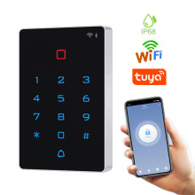 T12 WIFI Tuya Smart Door Lock Waterproof Door Access Control System Standalone Keypad RFID Card Door Entry Access Controller