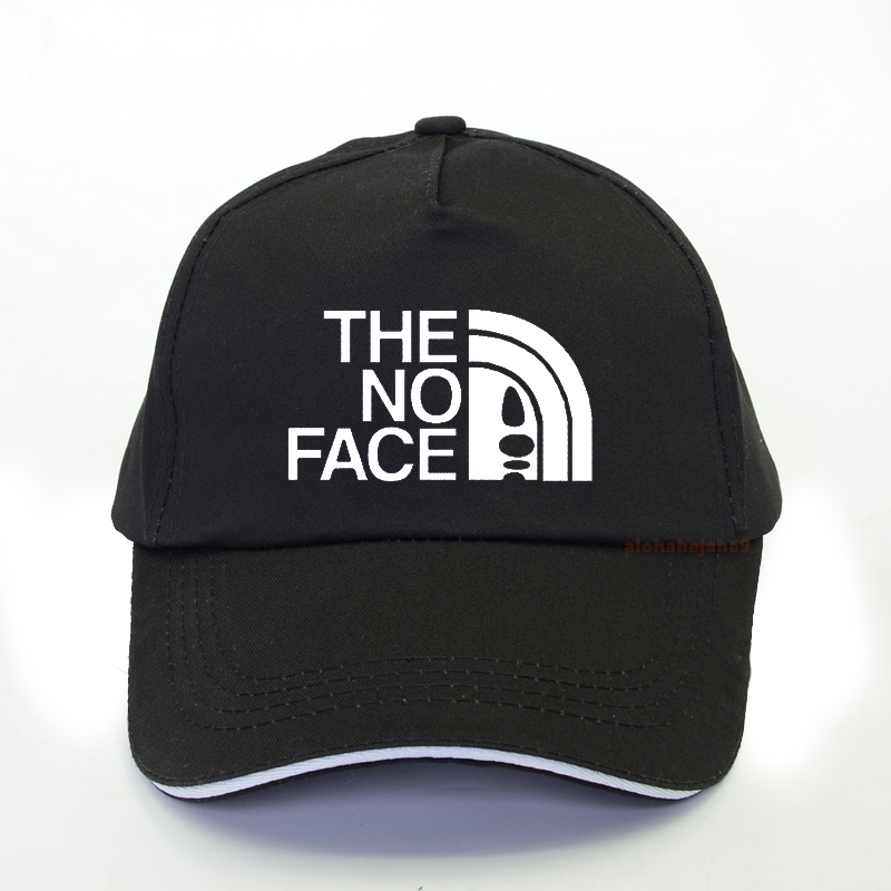 Japanese Anime No Face Men Baseball Cap Studio Ghibli Miyazaki Hayao Anime Spirit Away Movie hip hop hat the No Face caps image