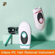 Xiaomi Youpin InFace IPL Epilator 900000 Pulsed Laser Hair Removal Device Wireless Electric Whole Body Hair Removal Machine