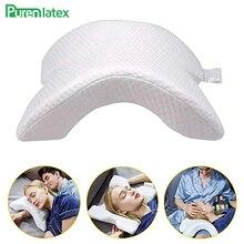 Orthopedic Pillow Neck-Cerviacal Support Memory-Foam Protect-Neck Sleeping-Hand-Hemp