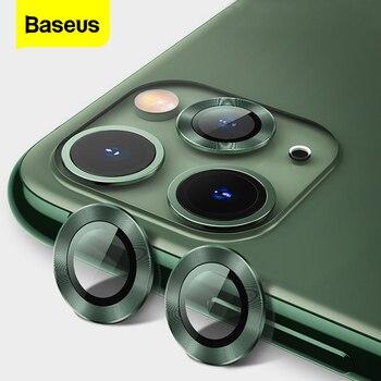 Baseus tylna osłona obiektywu do aparatu iPhone 11 Pro Max osłona aparatu do iPhone 11 Pro obudowa ze szkła hartowanego
