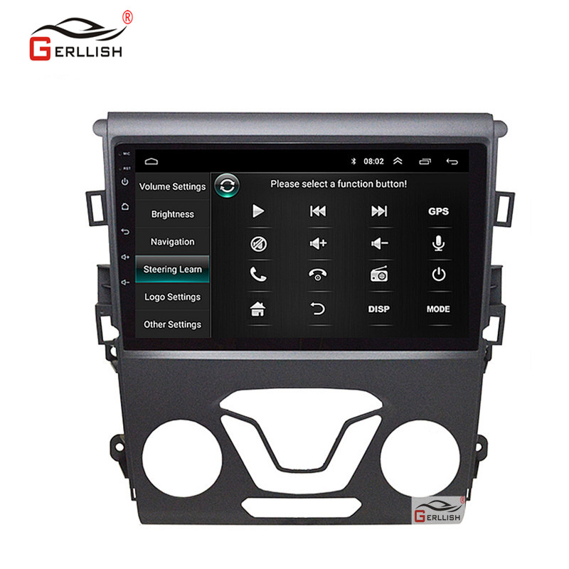 Android Car DVD Player For Fusion 2013 2014-2019 With Bluetooth / Built-in Map / Online Video