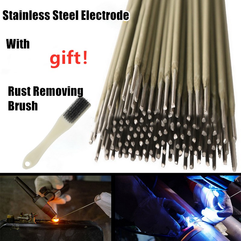 304 Stainless Steel Welding Rod Electrodes Solder For Soldering 304  Weld Wires Diameter 1.0mm-4.0mm With Gift