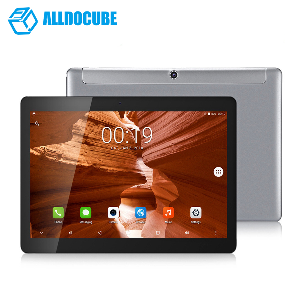 Tablets Pc Alldocube C5 4g Phablet 9.6 Inch Android 7.0 Tablet Mtk6737 1.3ghz 2gb 32gb Wifi Dual Sim Cards Front Double Cameras
