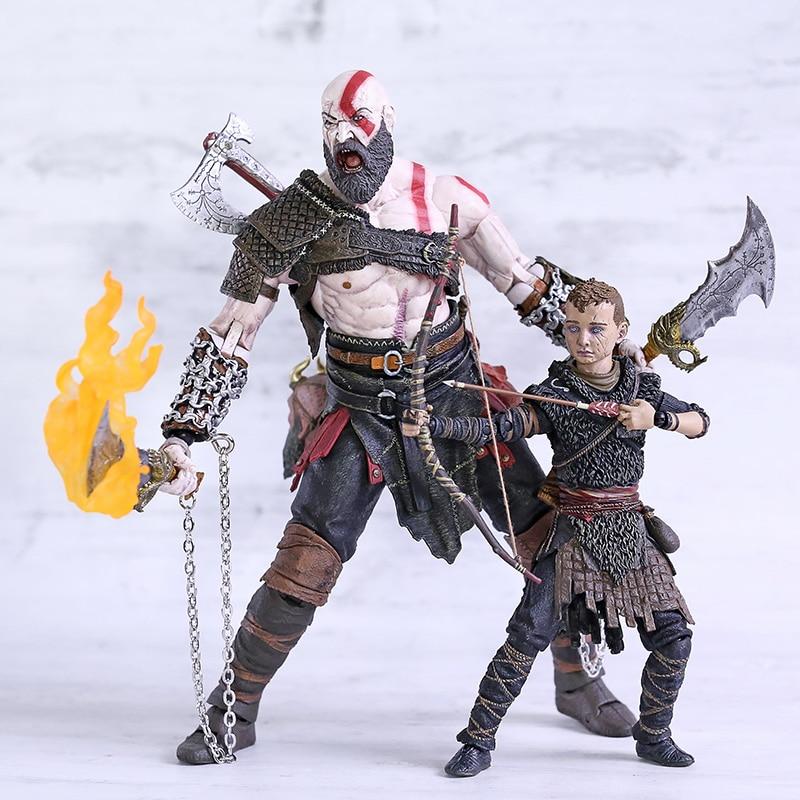 "NECA Game Original God of War 3 Ultimate Kratos 7/"" PVC Action Figure Toy Doll"