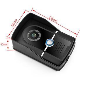 Image 3 - 7 بوصة السلكية فيديو باب الهاتف نظام اتصال داخلي IP55 الصف كاميرا مقاومة للماء مع ليلة Visior