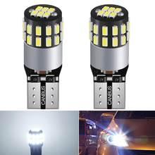 Bombilla LED CANBUS sin ERROR T10 para coche, lámpara de techo de lectura, señal de giro de estacionamiento, 6000K, Blanca, para Alfa Romeo, Nissan, Kia, Opel, 2 uds.