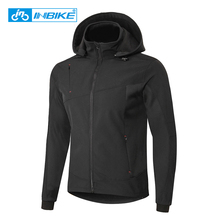Sportswear Bike-Clothing Cycling-Jacket Winter INBIKE Windproof Fleece Outdoor Men MTB