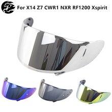 Motorcycle Helmet Lens for X14 Z7 CWR1 NXR RF1200