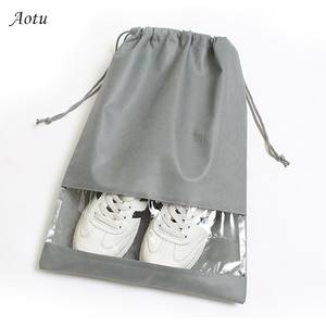 Shoes Bag Cover Organizer Pouch Storage Tote Drawstring-Bag Laundry Waterproof Portable