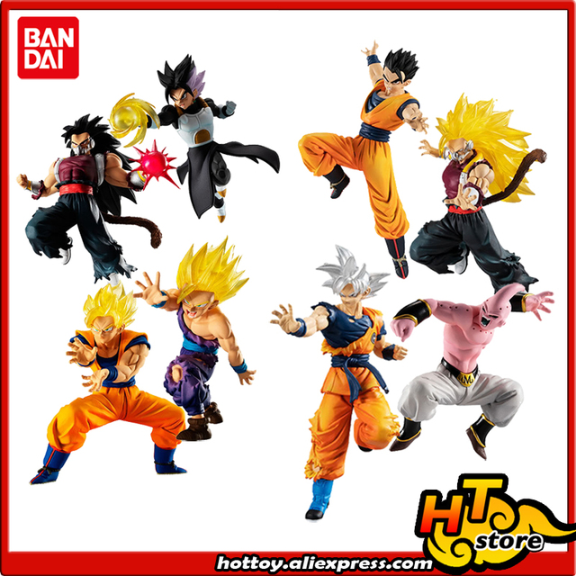 BANDAI Battle VS Gashapon PVC Toy Figure   Cumber Gokou Gohan Gotenks Buu //Z0L12