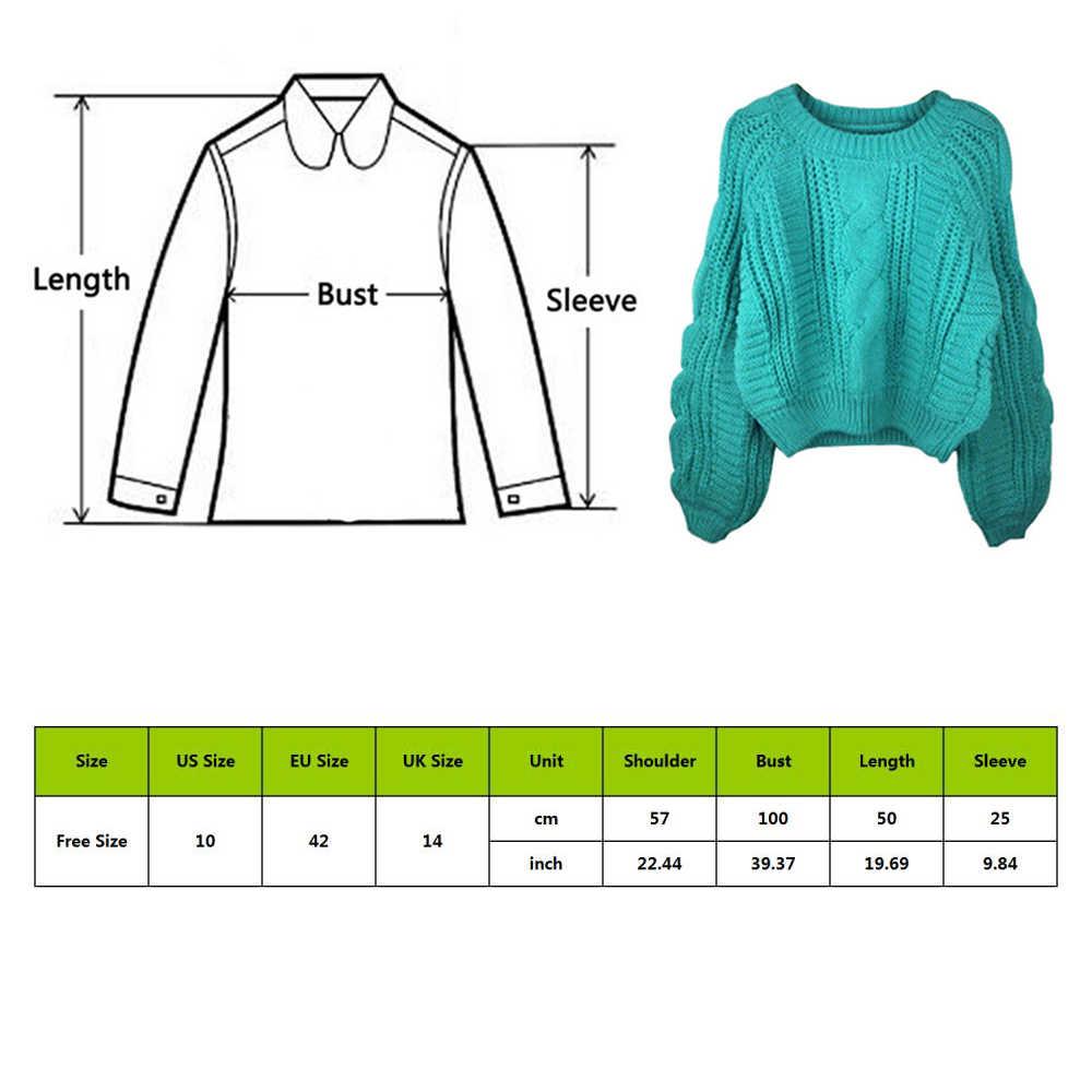 2020 camisola feminina pulôver pulôver pulôver cor doce harajuku chique camisola curta trançado puxar menina