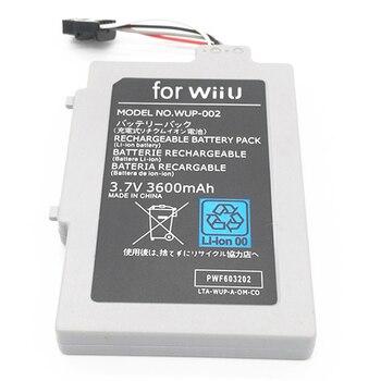 3,7 V 3600mAh Pack de batería recargable para Nintendo Wii U batería...