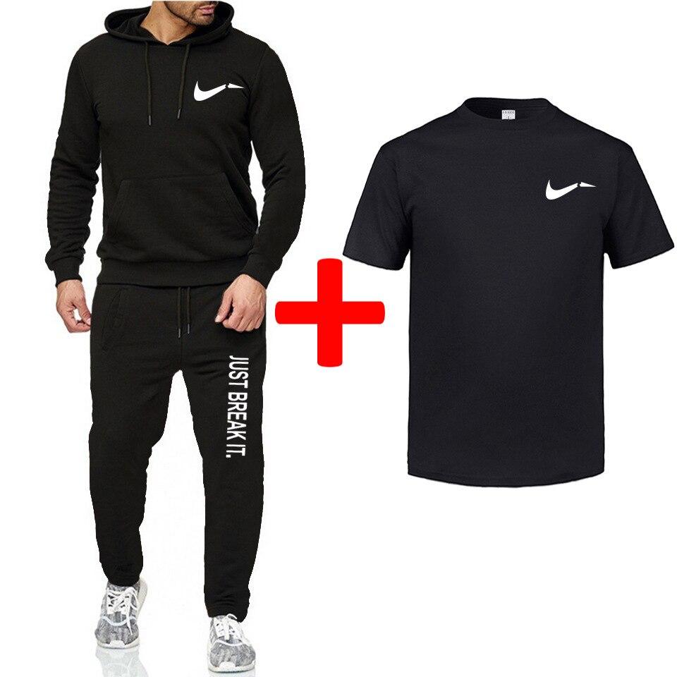 2019 Liverpool Loose Casual Print Set Men And Women Sports Running Two-Piece Fleece Warm Hoodie Men's
