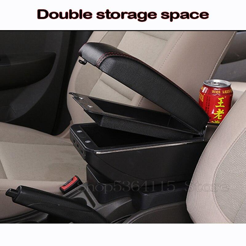Auto Box bracciolo con ricarica USB automotive braccioli aumentando Pad for una Daihatsu Terios 2 Accessori 7.18