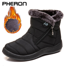 Women's ankle boots fur boots warm snow boots winter shoes for women waterproof padded boots winter boots women footwear Zapatos
