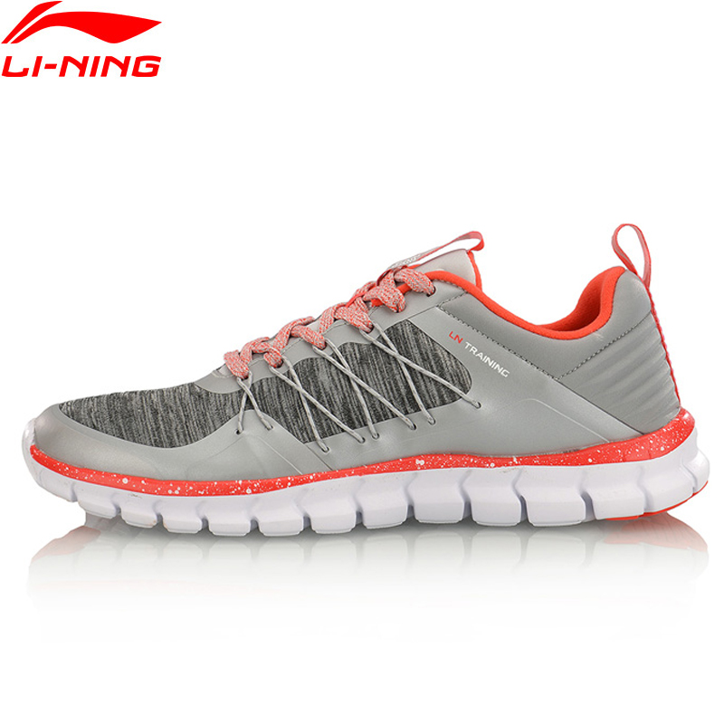 (Break Code)Li-Ning Women 24H Training Shoes Wearable LiNing Li Ning Sport Shoes Breathable Anti-Slip Sneakers AFHM042 YXX020