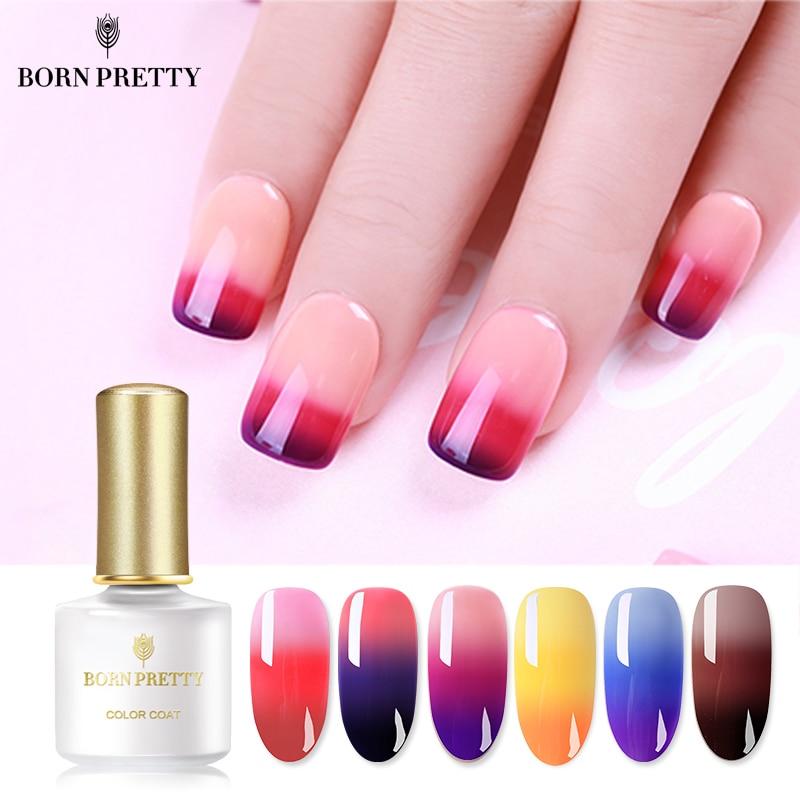 BORN-PRETTY-3-Layers-Thermal-Nail-Gel-Polish-6ml-Temperature-Color-Changing-Soak-Off-