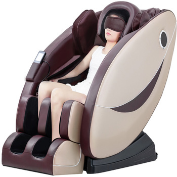Straight gift massage chair home multifunctional space capsule full automatic sofa kneading massager