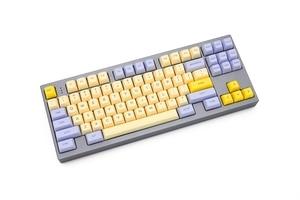 Image 3 - SA profile Dye Sub Keycap Set PBT plastic lily beige purple  for mechanical keyboard beige grey cyan gh60 xd64 xd84 xd96 87 104