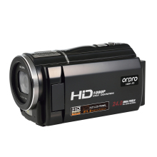 ORDRO F5 Digital Video Camera Camcorder 1080P Full HD 30fps Camera External Wide