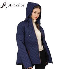Outwear Thick Padded Parka Hooded-Jacket Oversize Outercoat Female Warm 7XL Plus-Size