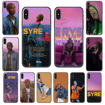 Singer Jaden Smith Phone case For iphone 4 4s 5 5S SE 5C 6 6S 7 8 plus X XS XR 11 PRO MAX 2020 black painting shell soft image